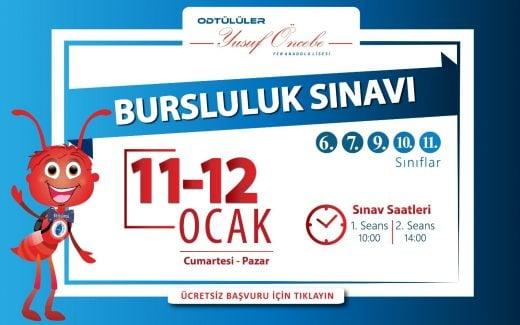 Ankara Bursluluk Sınavı 2020