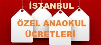 istanbul özel okul fiyatları ANAOKUL
