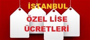 istanbul özel okul fiyatları LİSE